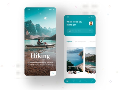 Hiking Mobile App