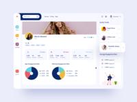 Influencer Dashboard UI 02