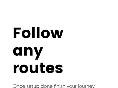 Navigation App mapviewer routes follow route app screen tutorialscreen onboarding onboarding screens uidesign mobileappdesign mobileapp maps ar view create route routeapp route create map application map navigation app navigation