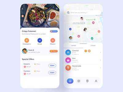 Directory App restaurant directory coin earn uiux appdesign community app local community app uidesign hybridapp sale discout promotion app restaurant app directoryapp mobile app directory