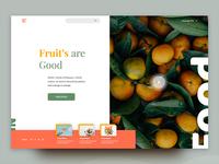 Food Blog Header Explore