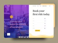 Taxi web Concept