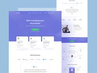 Cloud Managing Web Apps Concept 02