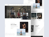 Yoga Fitness Landing Page