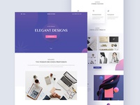 Design Studio (Agency Landing Page)