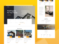 Real Estate Homepage Concept