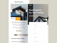 Responsive 01 (Real Estate Homepage)