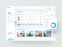 Travel Dashboard UI