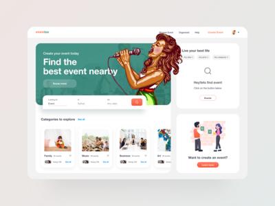Event Web UI
