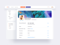Communication Platform Profile UI