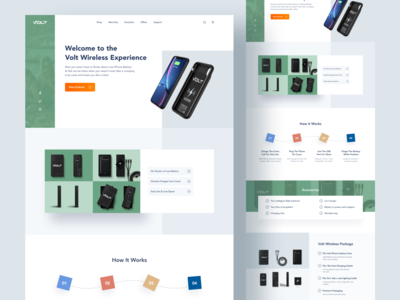 Product Landing Page!