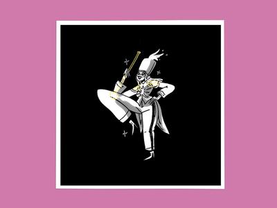 The Black Parade / Uno bandart poster fanart blackparade mychemicalromance character procreate design illustration