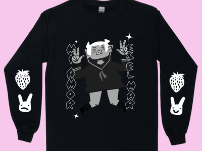 Long Sleeve clothing brand tshirt sleeve long sleeve character procreate illustration