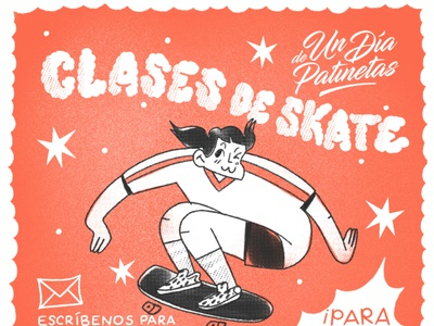Learn to skate skateboarding skater skate character design procreate illustration