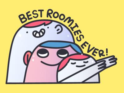 Best Roomies Ever!