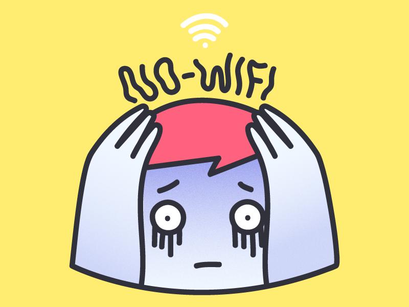 No Wifi roomate roomies terrible sad wifi no