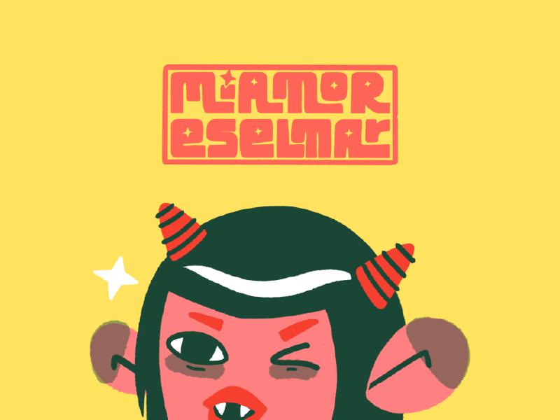 Mi Amor Es El Mar characterdesign onigirl demon japan oni brand