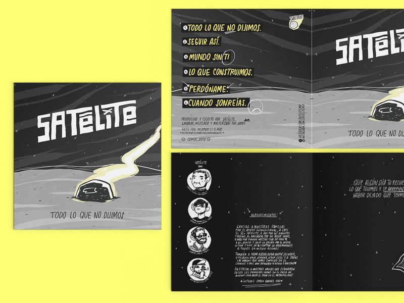 Cover Art booklet procreate illustration bandart album punk rock cd ep artwork cover