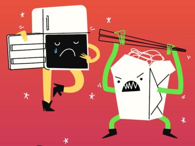 Characters custom halloween character design design procreate illustration