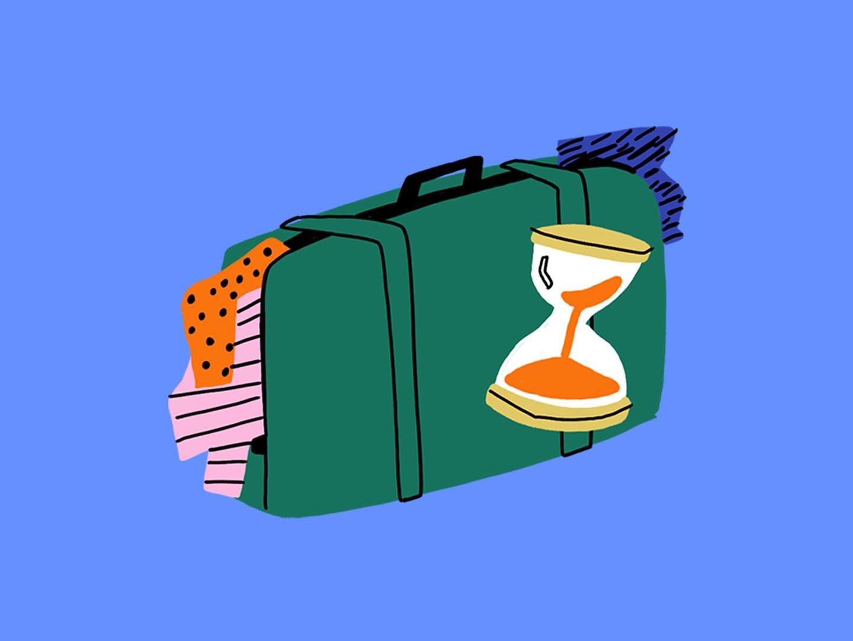 Moving roomie roomies design procreate illustration
