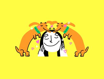 04 roomie roomies character design procreate illustration