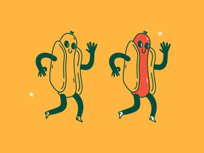 Dogo character design procreate illustration