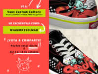 Vans Custom Culture / Vote for me