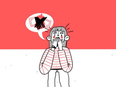 Fondeadora / 02 character design procreate illustration