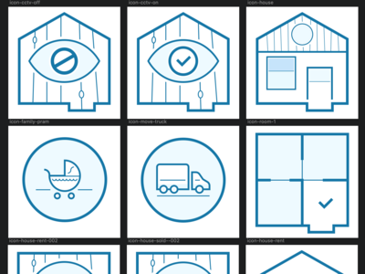Removals icons