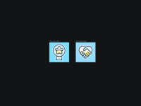 Trust bar icons research