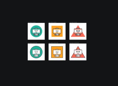 Icons adjustements