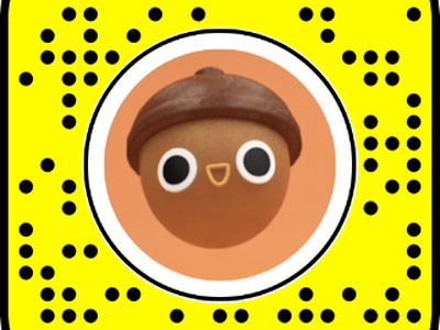 Acorn Dude (AR) snapchat snapchat filter loop motion funny illustration 3d c4d character animation bounce fall acorn