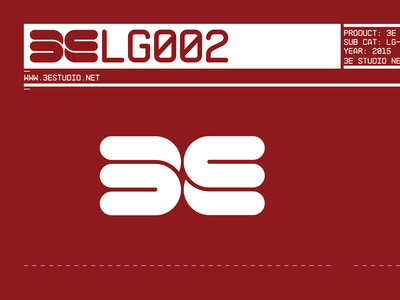 3E Studio Logotypes & Brands V.2 Collection // Red