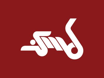Sports Media Design Logo V1.0