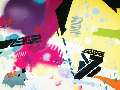 3E Artwork: Technograffiti