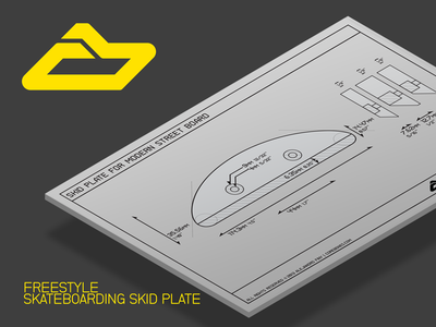 Freestyle Skateboarding Skid Plate