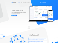 Ttradeuk B2B product landing page