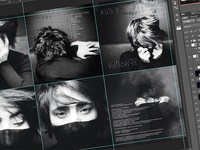 Design development of the studio album for cult singer Zemfira