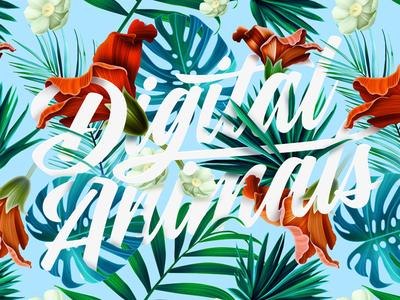 Digital —Animals—Spring—2016 digitalanimals botanic spring pattern jungle illustration digital g clean