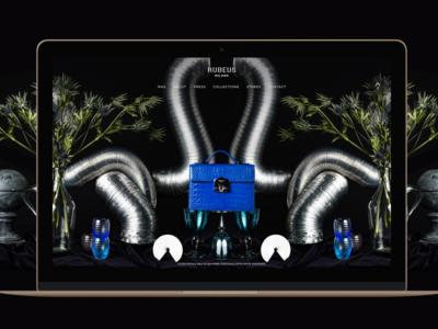RUBEUS MILANO fashion autumn digitalanimals design digital web professional ui ecommerce shop store video