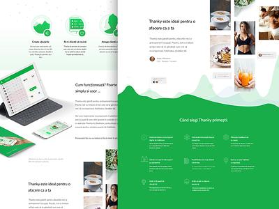 Business page homepagedesign b2c b2b homepage ui illustration animation case study minimalist minimalistic landing page layout