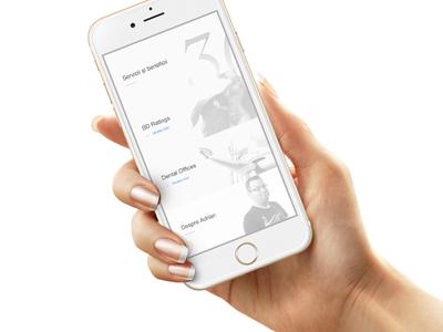Mobile Portfolio / Navigation