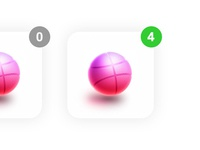 Four dribbble invites