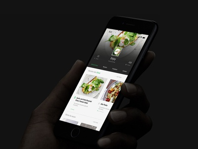 Thanky mobile app design food mobile app mobile minimalistic minimalist layout