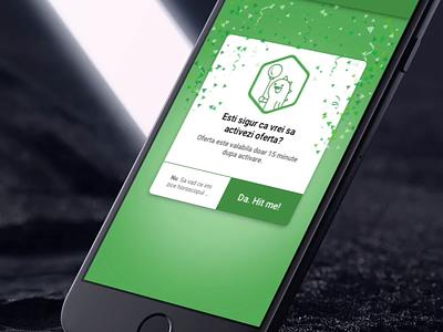 Thanky Confetti modal mobile apps reward mobile app confetti