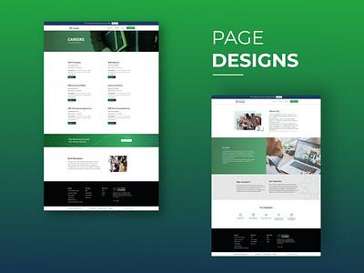Web Page Design For Anutham Trainers javascript ui design ux vector illustration elementor design typography branding wordpress graphic design ui