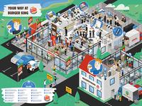 Burgerking Map