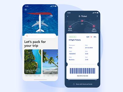 British Airways app ticket booking ticket app ios booking app user plane minimal search flow booking  flights flight app flight booking muzli ui ux aircraft