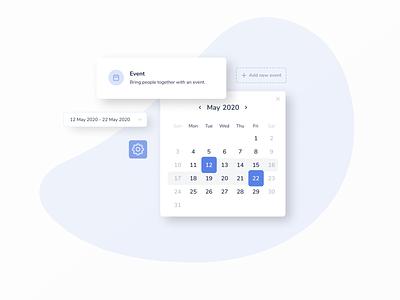 Calendar assets app minimal product interface clean design web ux ui promo code promo calendar design calendar ui calendar