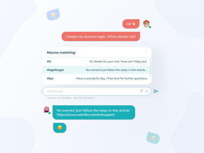 ⚡️ Chat light mode concept web ios app interface clean design muzli figma design figmadesign figma component ui ux chat bot chatting chat app chatbot chat
